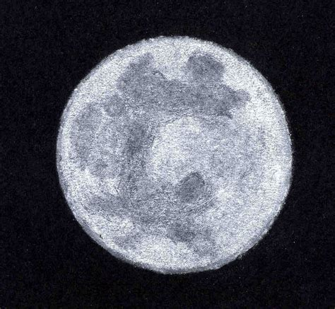 Drawing The Moon by Sketch Of Moon