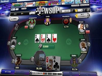 ea launches  play world series  poker app  facebook