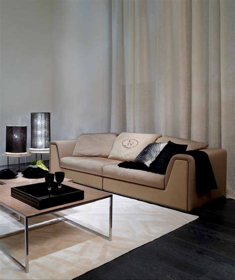 three seater sofa prestige in kaganoi upholstery fendi