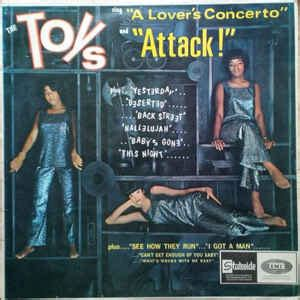 a lover sings selected the toys the toys sing quot a lover s concerto quot and quot attack quot vinyl lp at discogs