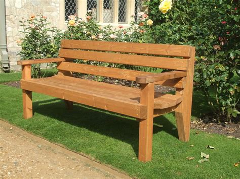 timber garden benches garden bench commercial grade ebay