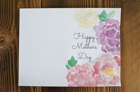 diy mother s day card family creative diy mothers day cards as well as mothers
