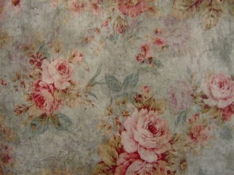 vintage floral wallpaper image french shabby chic pink