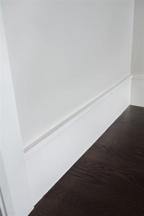 modern trim molding clean modern baseboard idea built ins woodwork
