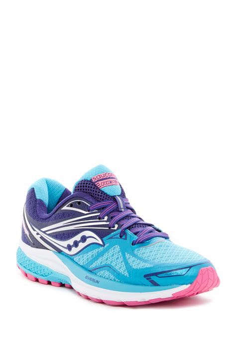 narrow width athletic shoes saucony ride 9 running shoe narrow width nordstrom rack