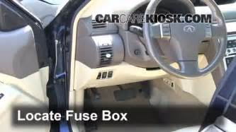 interior fuse box location 2003 2007 infiniti g35 2003 infiniti g35 3 5l v6 coupe 2 door