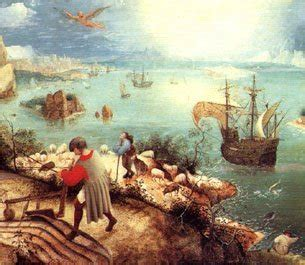 Landscape With The Fall Of Icarus Painting Images