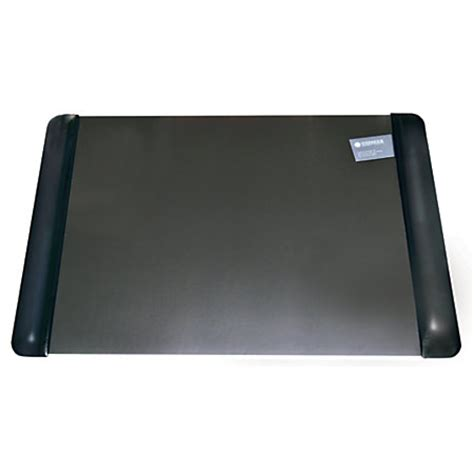 Office Desk Pads Office Depot Brand Executive Desk Pad With Microban 20 X 36 Black By Office Depot Officemax