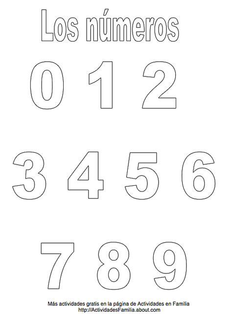 plantillas de numeros para imprimir n 250 meros para imprimir