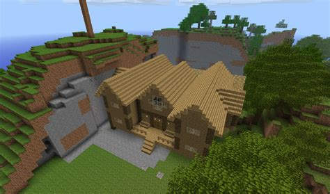 Minecraft Home Interior Ideas by 1st Wood House Minecraft Project