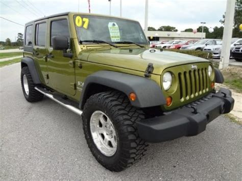 2007 Jeep Wrangler Weight 2007 Jeep Wrangler Unlimited X Data Info And Specs