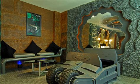 boys batman bedroom batman themed hotel room opens in taiwan my site