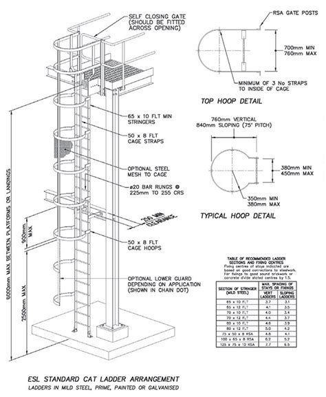 Handrail Clearance Staircases Esl Fabrication Engineers