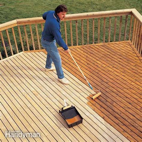 how to revive a deck the family handyman