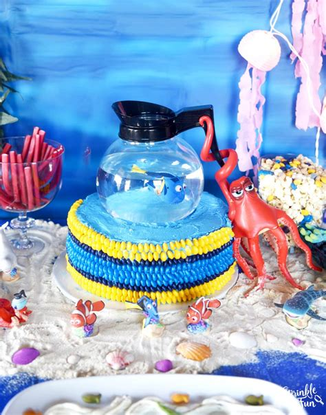 Ideas For Easter finding dory cake ideas sprinkle some fun