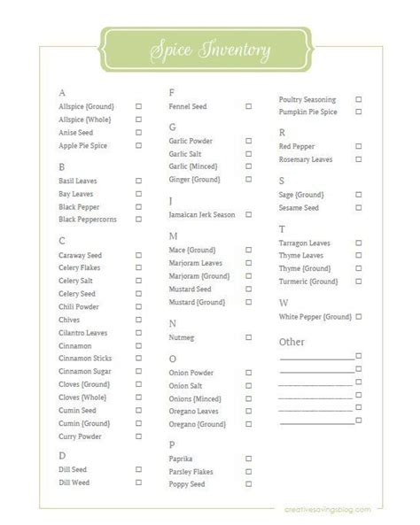 Kitchen Pantry Inventory List by Best 25 Pantry Inventory Printable Ideas On