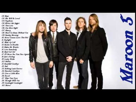 maroon 5 greatest hits cover best songs of maroon 5 top 30 greatest songs best song of maroon 5 youtube