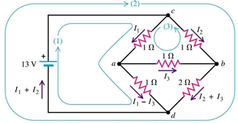 resistors in circuits physics using kirchhoff s laws on a complex circuit mini physics learn physics