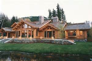 Ranch Log Home Floor Plans by Ranch Floor Plans Log Homes Log Cabin Ranch Homes Ranch