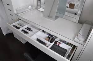 Ikea Vanity Drawer Organizer Makeup By Cheryl Ikea Vanity Redecoration And Makeup Storage