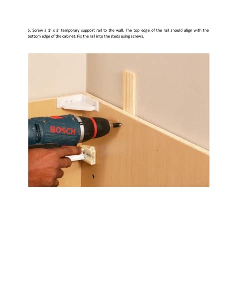 diy install kitchen cabinets diy how to install a kitchen cabinet