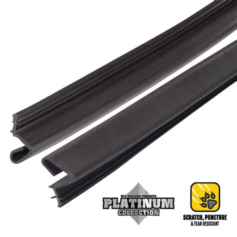 door weatherstripping 84 in platinum brown collection door weatherstrip