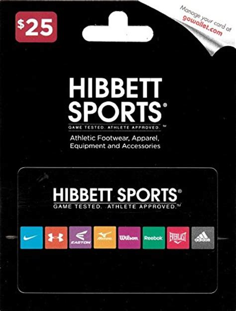hibbett sports 25 gift card - Hibbett Sports Gift Card