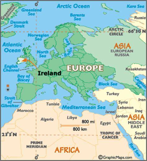 world map with ireland ireland map geography of ireland map of ireland