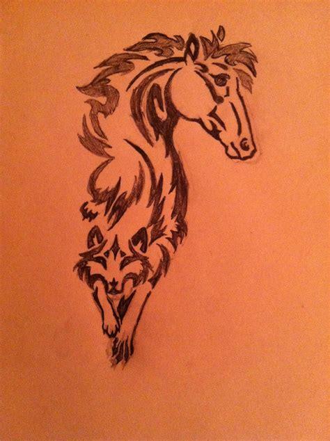 tattoo heartbeat horse horse heart tattoo horse to wolf tattoo design tat