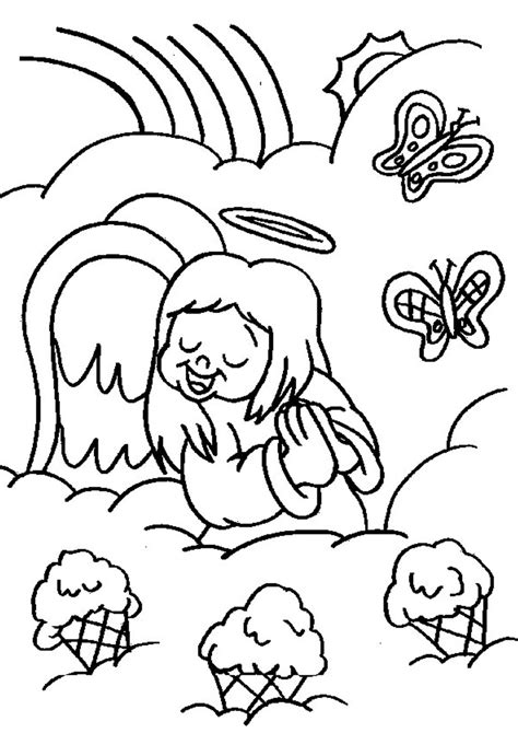 coloring pages angels singing fairy coloring pages part 2