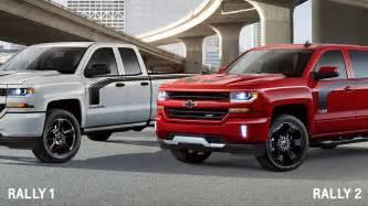 Rally Chevrolet Chevy Silverado Rally Edition Is Yet Another Special Model