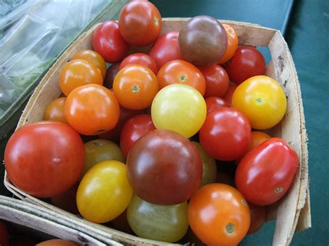Tomat Multi Color farm fresh and local produce 8 1 09 columbus foodie