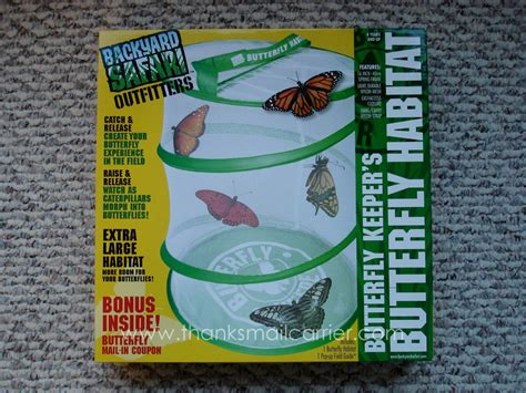 backyard safari butterfly habitat thanks mail carrier backyard safari outfitters
