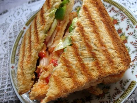 Grilled Cheese In The Toaster Grilled Daily Sandwich Sanjeev Kapoor Khana Khazana