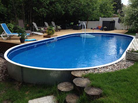 film semi pool 15 semi inground pools with decks hobbylobbys info