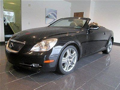 how to sell used cars 2006 lexus sc auto manual buy used 2006 lexus sc 430 convertible navigation in ardmore pennsylvania united states for