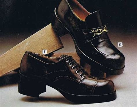 70s men s platform shoes back in the day