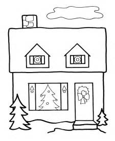 cartoon house coloring pages kids coloring