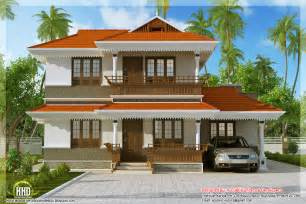 kerala model home plan in 2170 sq feet indian house plans