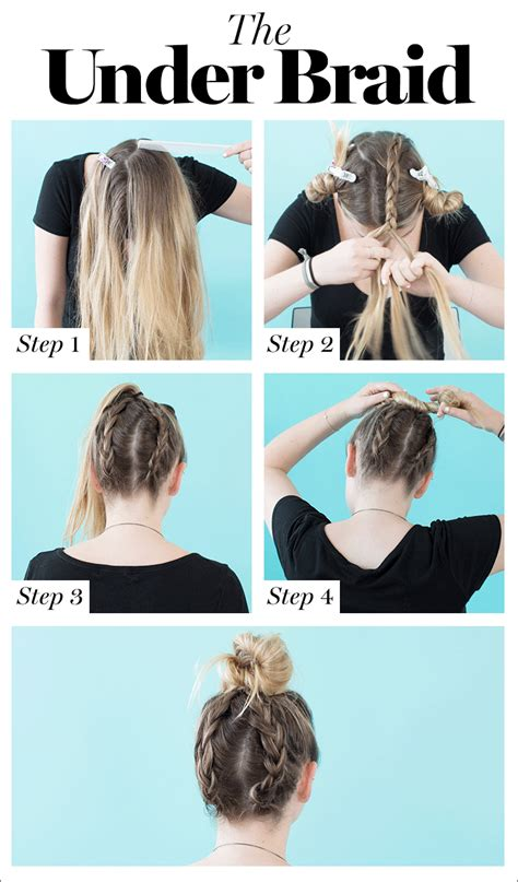 braid hair  cute diy hairstyles   hair type glamour