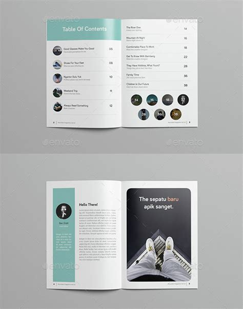 25 tasteful beautifully designed magazine templates 2016