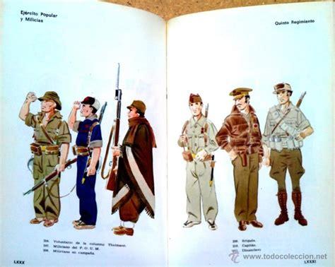 libro uniformes guerra civil espaola uniformes militares de la guerra civil espa 241 ola comprar libros antiguos y literatura militar