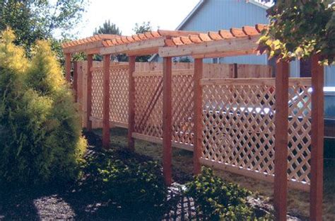 pergola privacy fence 44 best fences and pergolae images on
