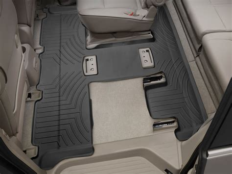 weathertech floor mats floorliner for nissan quest 2011 2015 black ebay