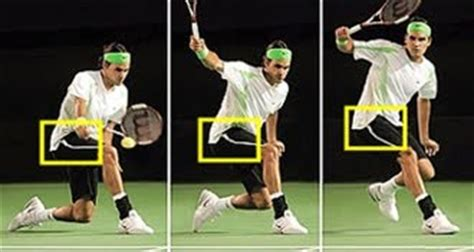 backhand swing groundstrokes of tennis tennis technical skills