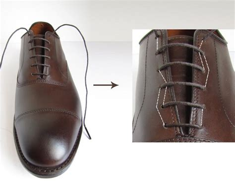how to bar lace dress shoes in 6 easy steps menswear market
