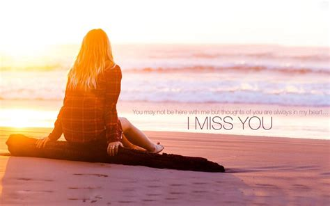 i miss you hd wallpaper for android i miss you quote girl at sea beach wallpaper best hd