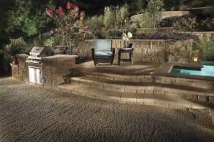 Retaining Wall Patio Design Custom Patio Design Retaining Wall And Landscape Design Traditional Patio Philadelphia