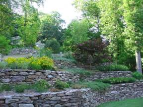 Tiered Backyard Landscaping Ideas Tiered Garden Design Outside