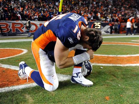 tim tebow bent a knee to honor god and the nfl attacked